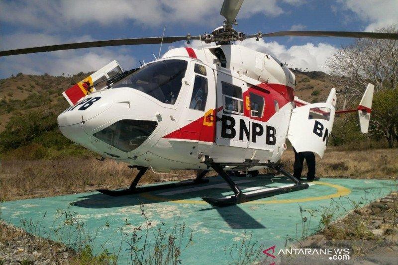 Karhutla di Riau dipadamkan dengan helikopter