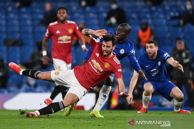 Liga Inggris : Chelsea vs MU imbang 0-0