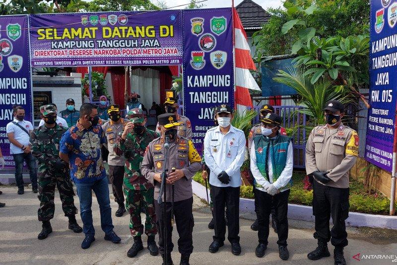 Program Kampung Tangguh Jaya Sudimara Barat targetkan hapus zona merah