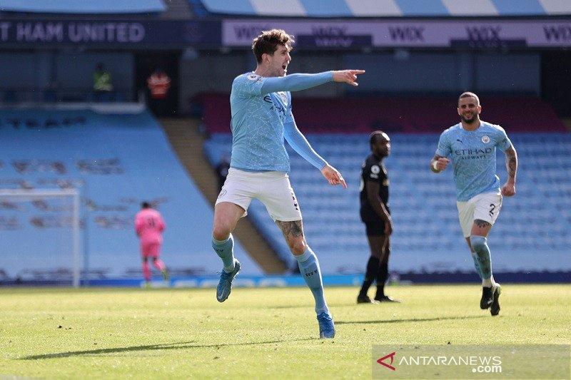Klasemen Liga Inggris: Manchester City kini unggul 12 poin di puncak