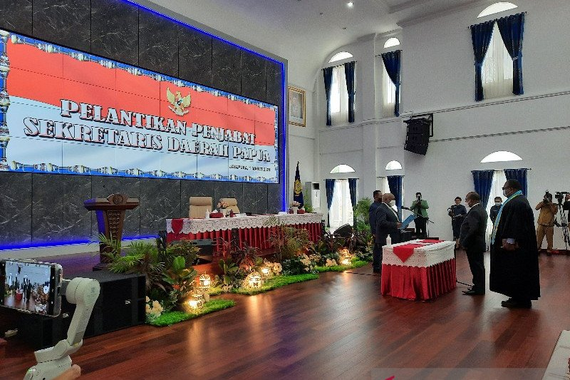 Wagub Papua sebut pelantikan penjabat sekda isi kekosongan jabatan