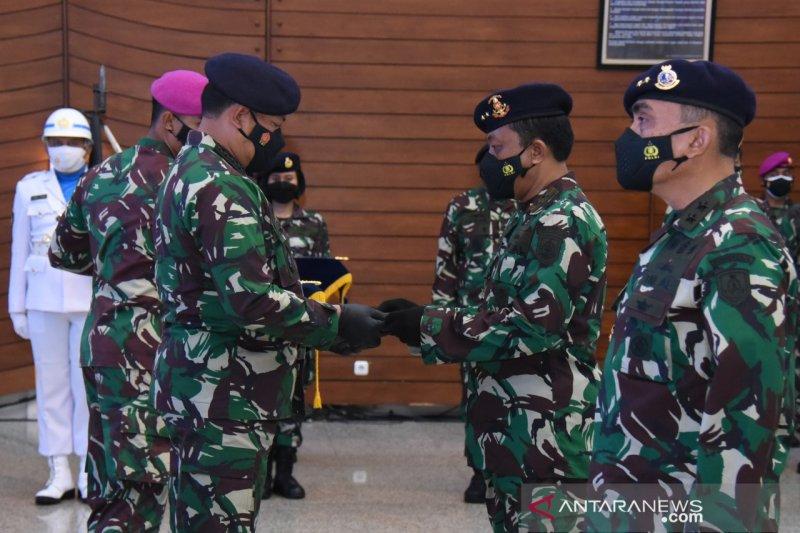 Kepala staf TNI AL resmikan jabatan Dankodiklatal dan Danpushidrosal