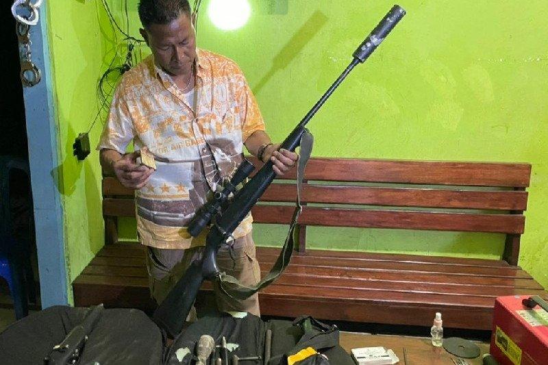 Polisi amankan lima pucuk senpi rakitan di Merauke