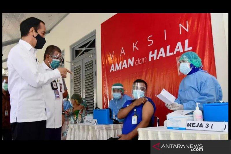 Presiden berharap pariwisata Yogyakarta bangkit setelah vaksinasi