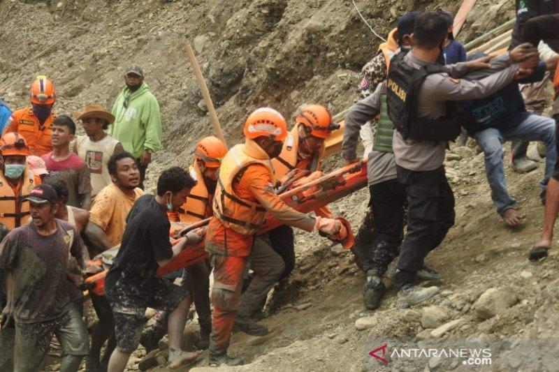 Tim SAR berhasil evakuasi korban tambang longsor di Parigi Moutong