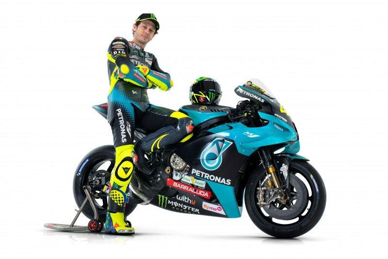 Rossi resmi kenakan seragam Petronas Yamaha SRT
