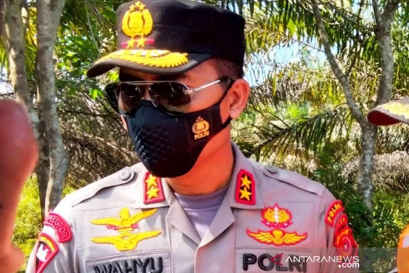 Kapolda sebut kebakaran hutan dan lahan  di Aceh karena dibakar