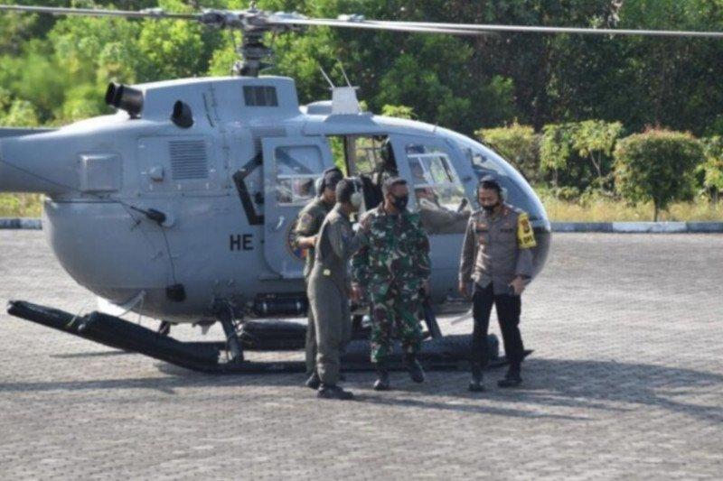 TNI-Polri patroli karhutla melalui darat dan udara di Tanjungpinang