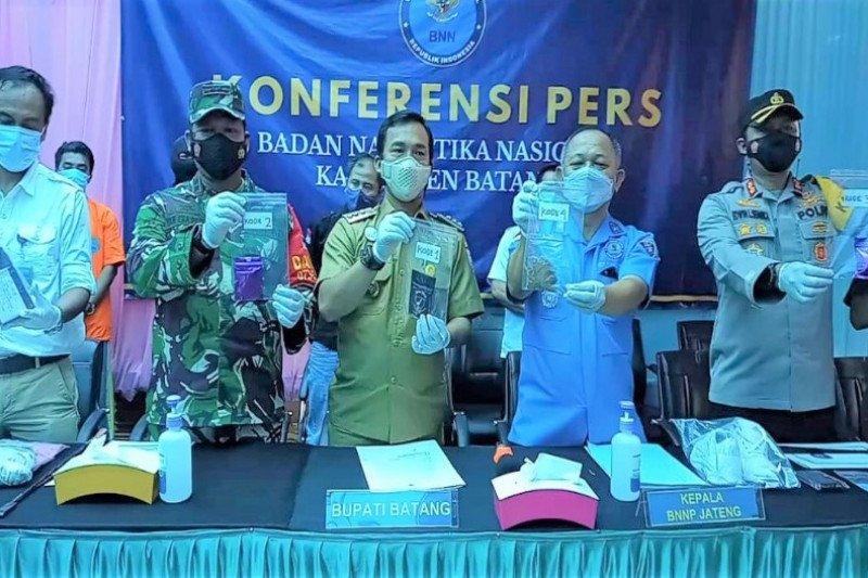 BNNP Jateng ungkap sindikat pengedaran tembakau gorila