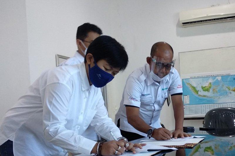 PT IKI-BGR Logistics teken MoU pengantongan pupuk di Makassar