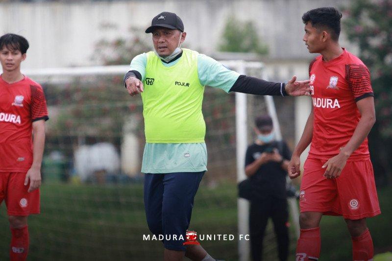 Madura United tingkatkan intensitas latihan jelang Piala Menpora