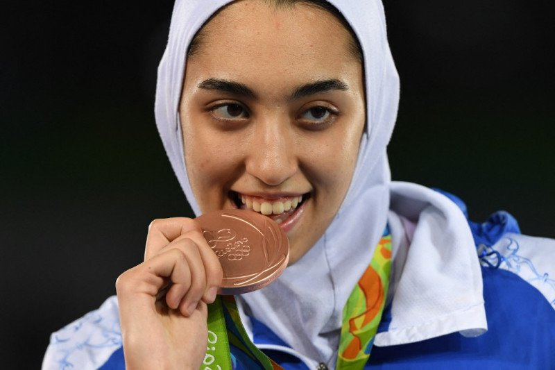 Peraih medali Olimpiade asal Iran berlaga sebagai pengungsi di Tokyo