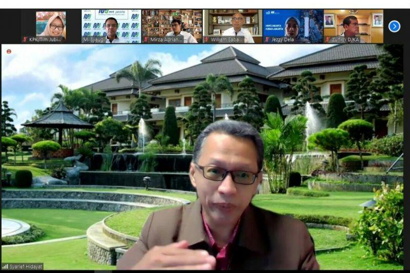 KPK sosialisasi tentang gratifikasi kepada 700 pegawai PT MRT Jakarta