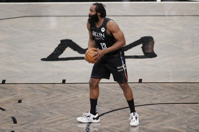 Triple-double James Harden bawa Nets ungguli Timberwolves