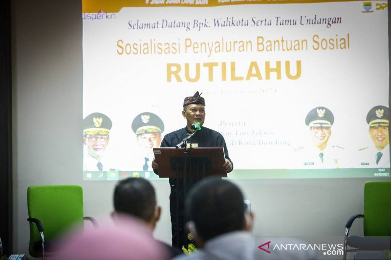 Kota Bandung terima 440 perbaikan Rutilahu dari Pemprov Jawa Barat