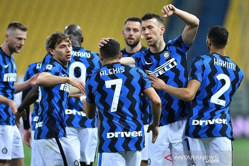Inter kokoh di puncak klasemen setelah benamkan Atalanta 1-0