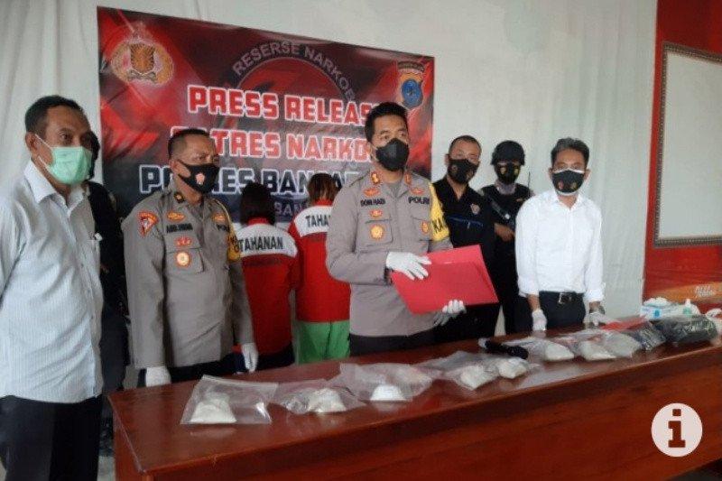 Polres Banjarbaru gagalkan peredaran 2,4 kilogram sabu-sabu