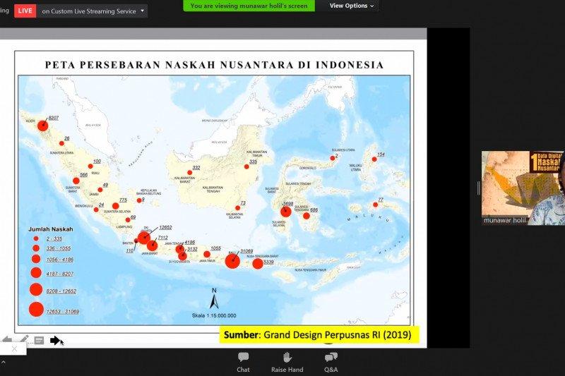 Masyarakat Pernaskahan serukan penyelamatan informasi naskah Nusantara