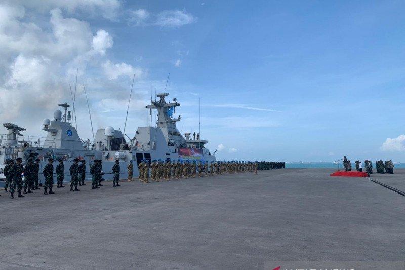 Panglima TNI lepas Satgas MTF TNI KontiNgen Garuda XXVIII M ke Libanon