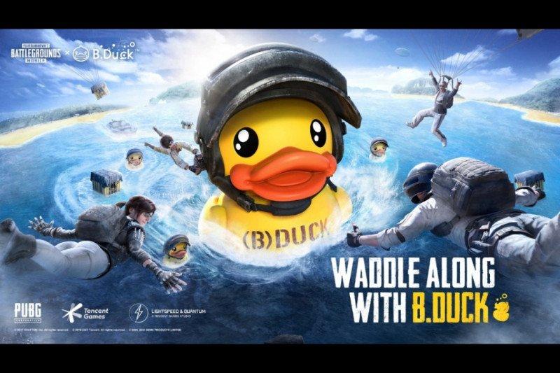 PUBG Mobile kolaborasi unik dengan B.Duck