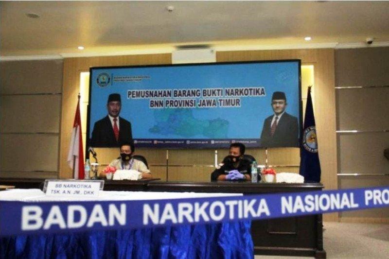 BNN Jatim jelaskan penghadangan massa saat tangkap bandar di Sampang