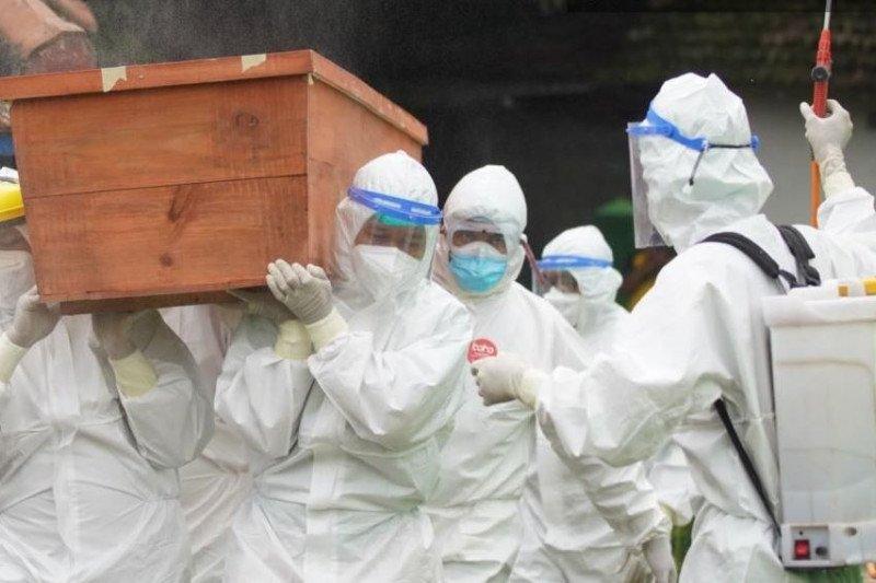 Kasus kematian pasien COVID-19 di Kota Madiun cukup tinggi