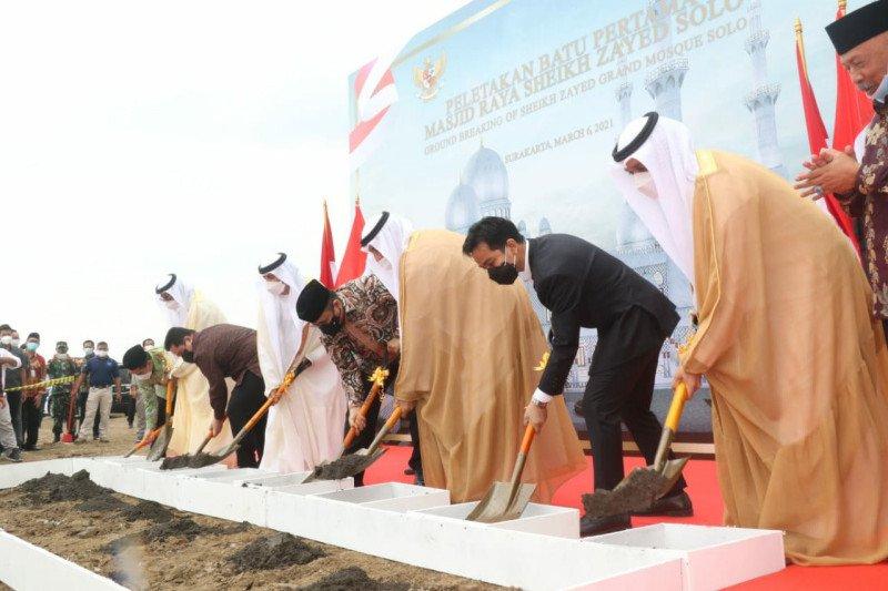 Pemerintah mulai bangun masjid simbol persahabatan Indonesia-UEA