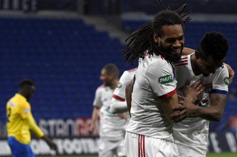 Lyon maju ke babak ketiga Piala Prancis, juga tujuh tim lainnya
