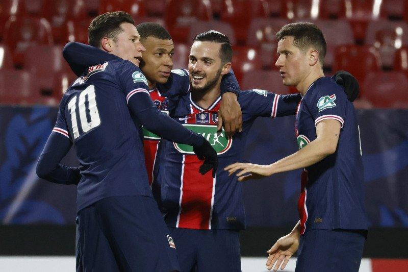 Tekuk Brest 3-0, PSG juga ke 16 Besar Piala Prancis