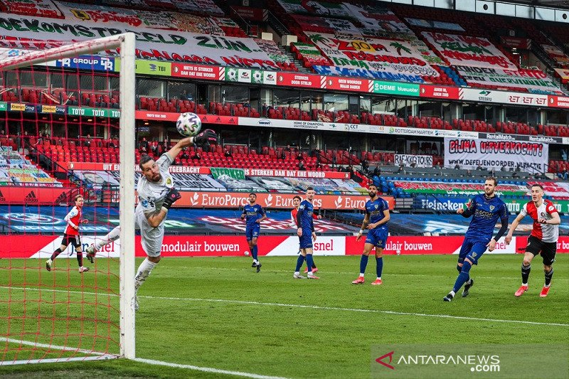 Feyenoord berondong gawang VVV Venlo enam gol tanpa balas