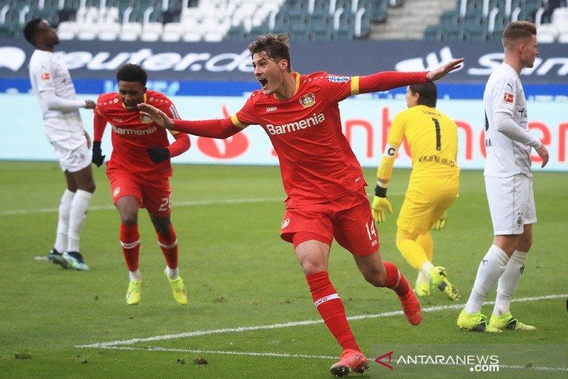Leverkusen kembali ke jalur kemenangan setelah tundukkan Gladbach