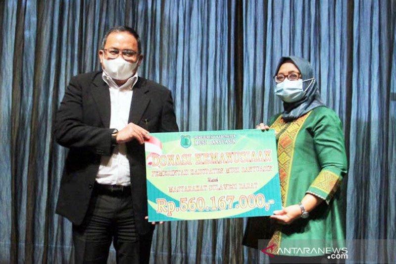 Pemkab Muba salurkan bantuan ke korban gempa Sulbar