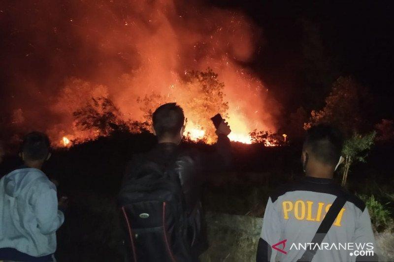 Polisi imbau warga Bangka Barat tidak buka lahan dengan cara membakar