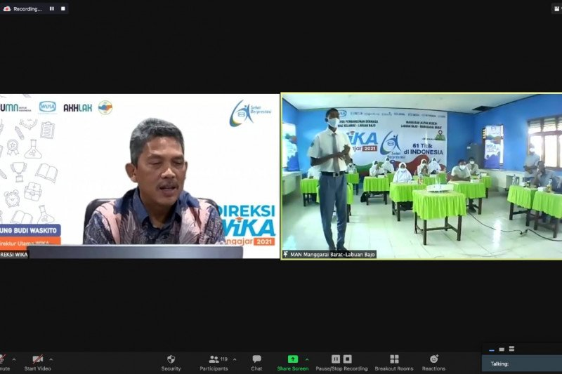 Sambut HUT ke-61, WIKA gelar WIKA mengajar di seluruh Indonesia