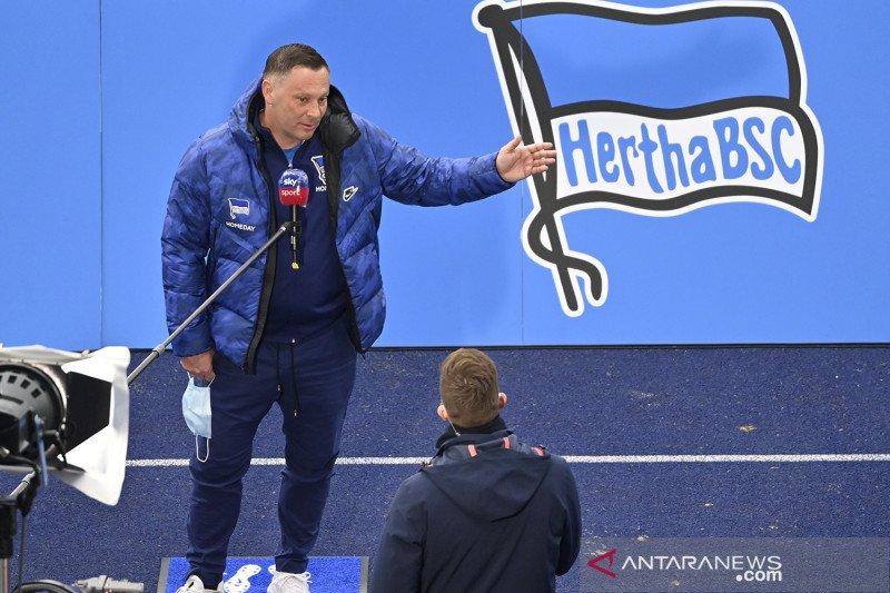 Tim Hertha Berlin diisolasi setelah tiga personelnya positif COVID-19