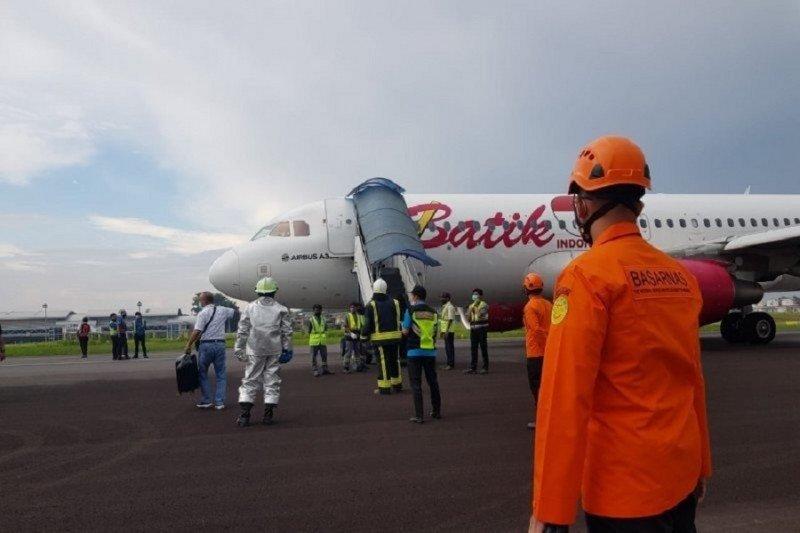 Bandara Sultan Thaha berhasil evakuasi pesawat Batik Air pagi ini