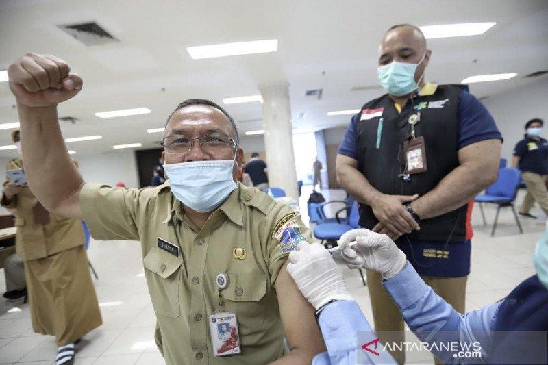 ASN Jakut mulai jalani vaksinasi COVID-19 fase pertama