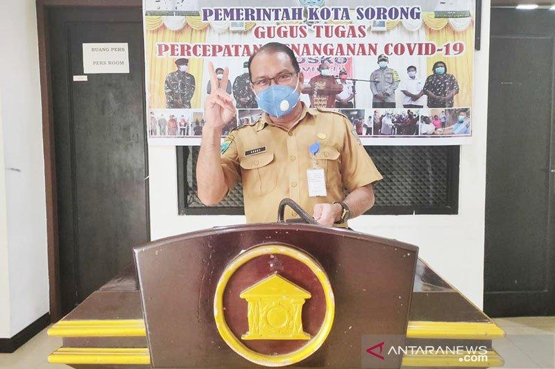 Total kasus positif COVID-19 Kota Sorong naik menjadi 2.835
