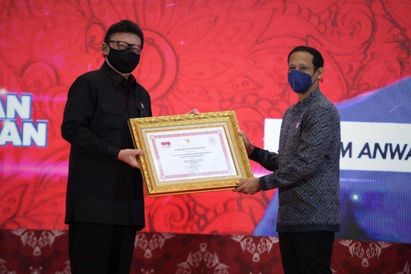 Kemendikbud raih dua penghargaan penyelenggaraan pelayanan publik 2020