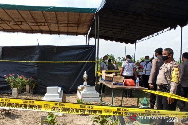 Polda Sumut bongkar makam tahanan Polsek Sunggal untuk penyelidikan