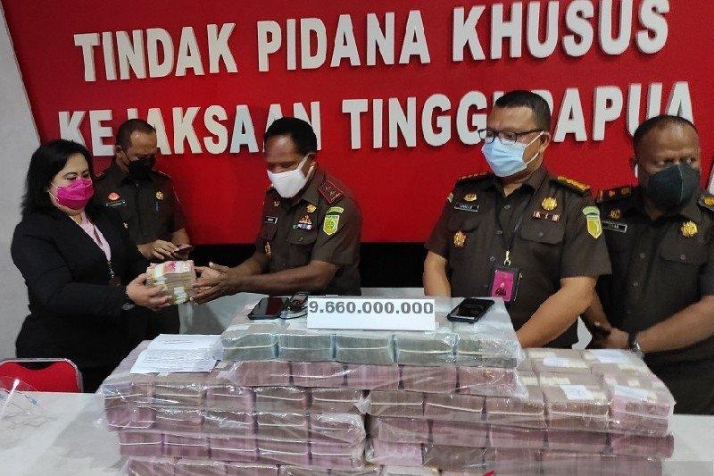 PT PGP kembalikan dana subsidi angkutan di Kabupaten Waropen Rp9,66 miliar