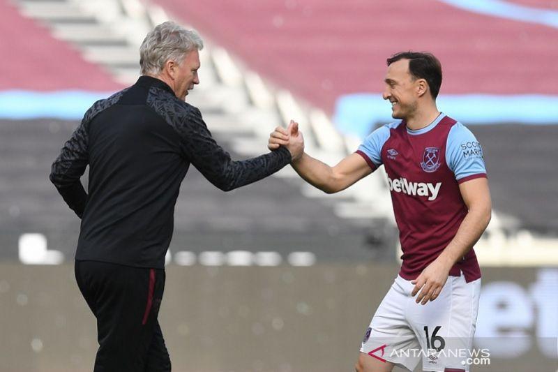 Mark Noble sebut spesial kemenangan West Ham atas MU