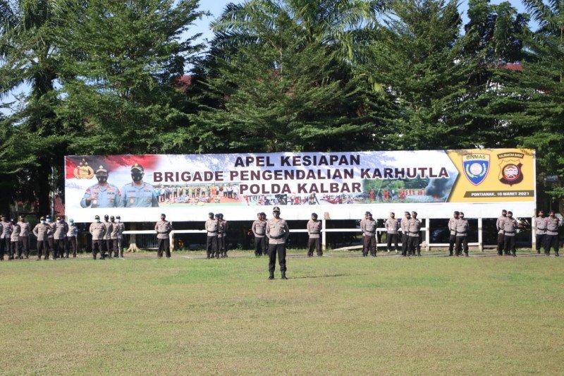 Polda Kalbar bentuk Brigade Pengendali Karhutla