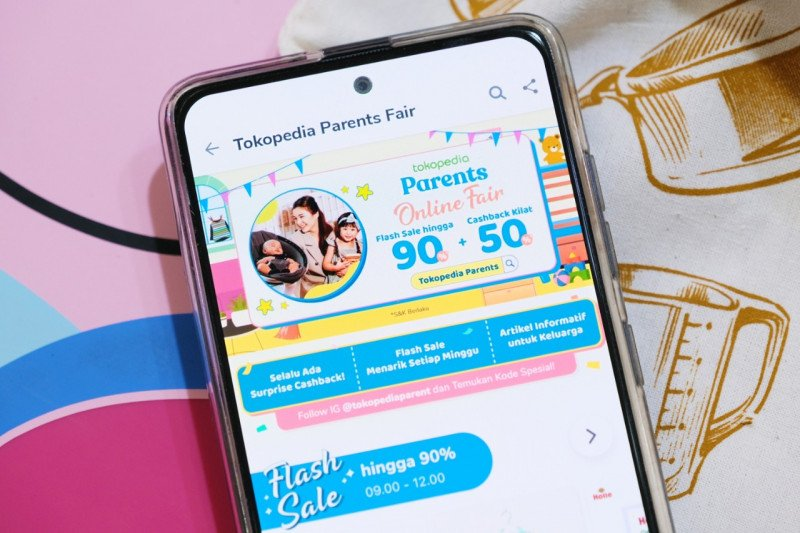 """""""Tokopedia Parents"""" diluncurkan permudah orang tua urus keluarga"""