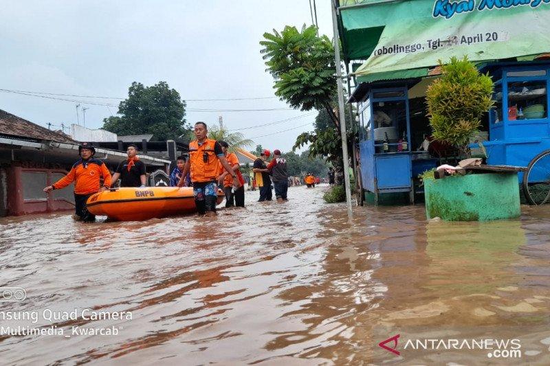 Banjir susulan di Kabupaten Probolinggo meluas