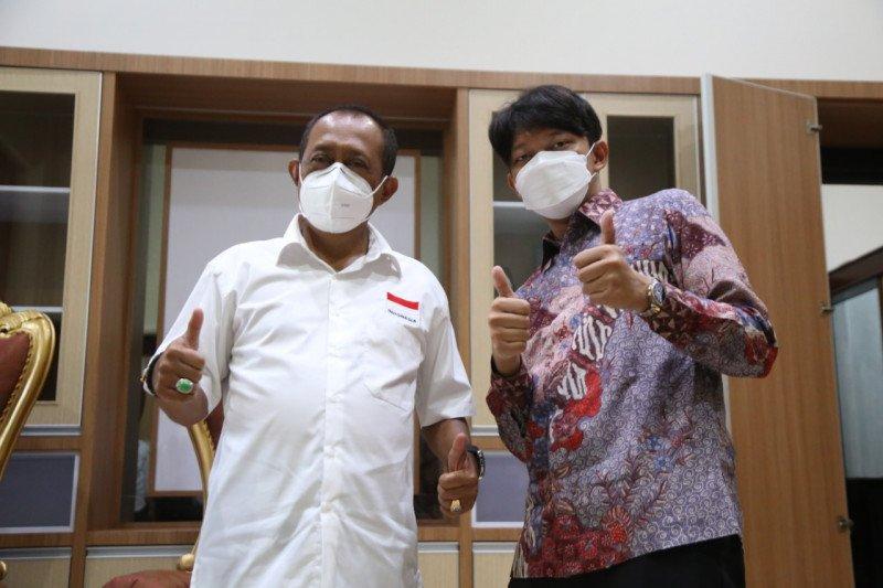 Sutradara Bayu Skak temui Wawali Surabaya jelang syuting film Lara Ati