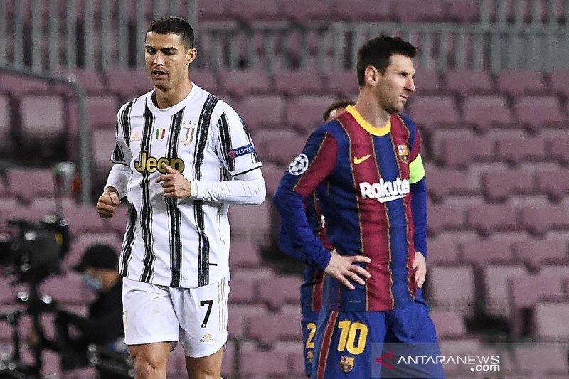 Pertama kalinya sejak 2004-05, perempat final UCL tanpa Lionel Messi dan CR7