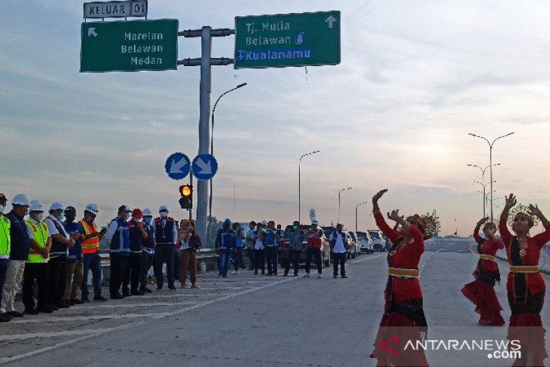 Tol Medan-Binjai Seksi I Tanjung Mulia-Marelan resmi beroperasi