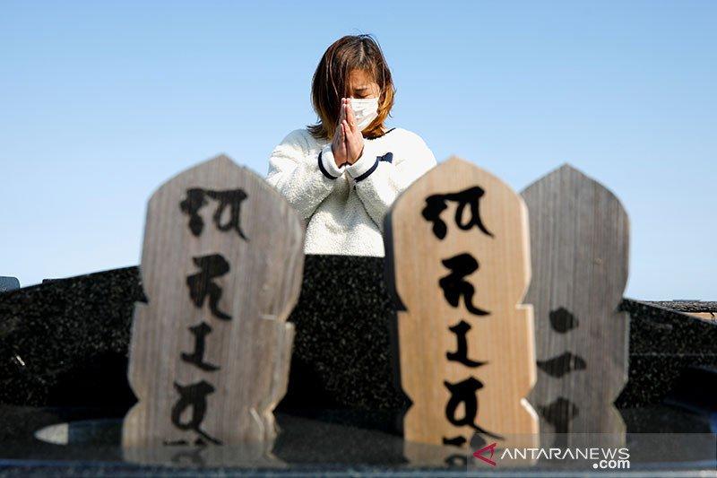 10 tahun berlalu, Jepang berduka atas korban gempa, bencana Fukushima