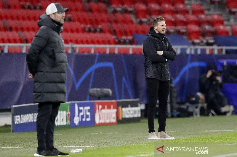 Klopp sebut pemain Leipzig seperti monster, Nagelsmann tak sepakat
